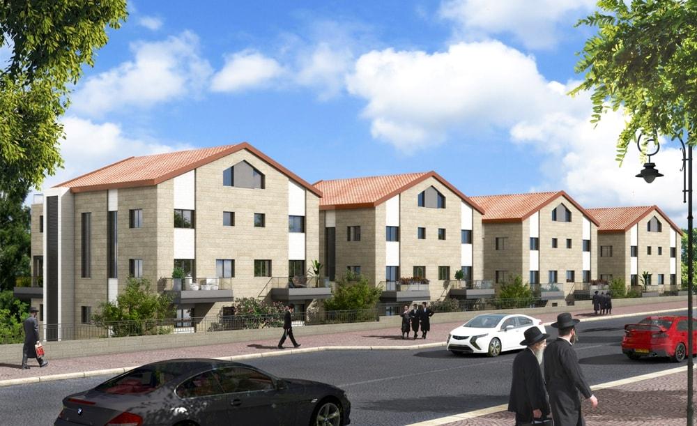 Ramat Beit Shemesh Gimmel: Nof Harama 3 Bedroom Duplex