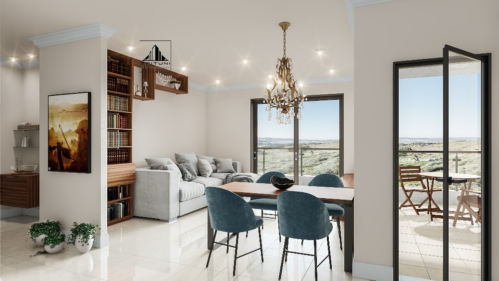 Beit Shemesh New Construction: Psagot Taaman 2 Bedroom Apartment