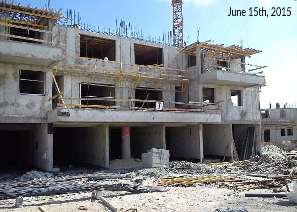 Chazon Galili Mishkafayim Progress June 2015