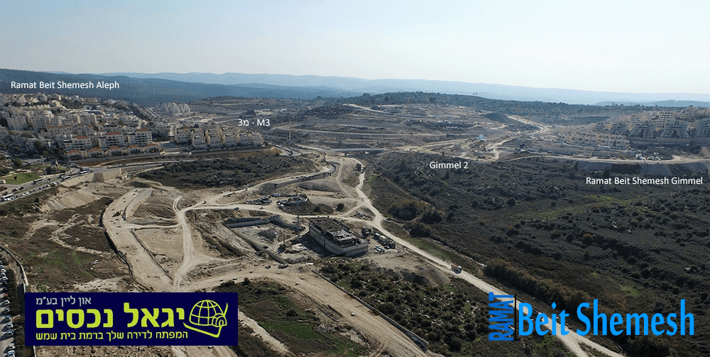Ramat Beit Shemesh Aerial Photo