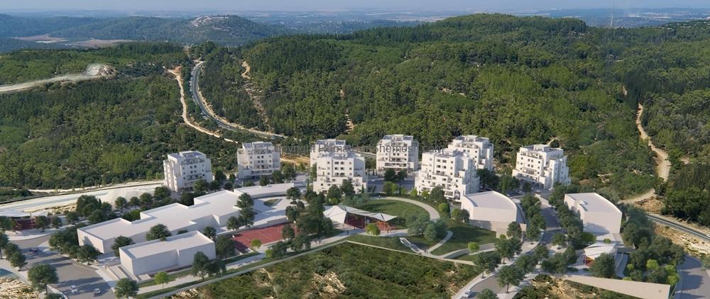 Ramat Beit Shemesh Gimmel: Nofai OM 2 Bedroom Garden Apartment